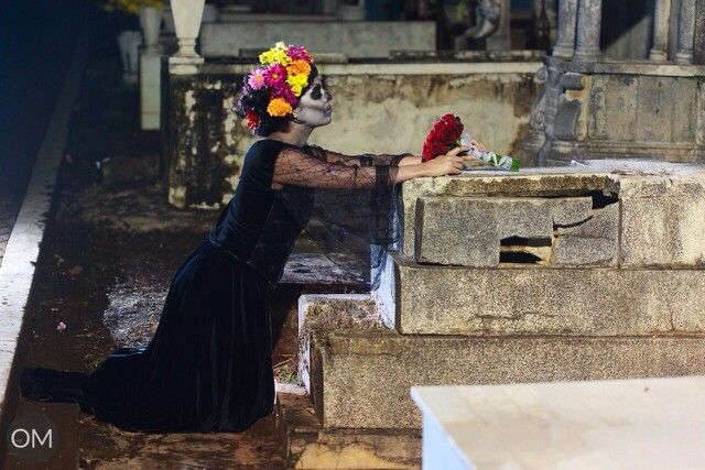 Feliz dia de muertos !!!! Meke up artis mauricio dominguez