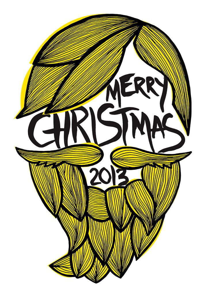 """""""Bearded Lady"""" Christmas Cards on The Loop © Anne Nicholson"""