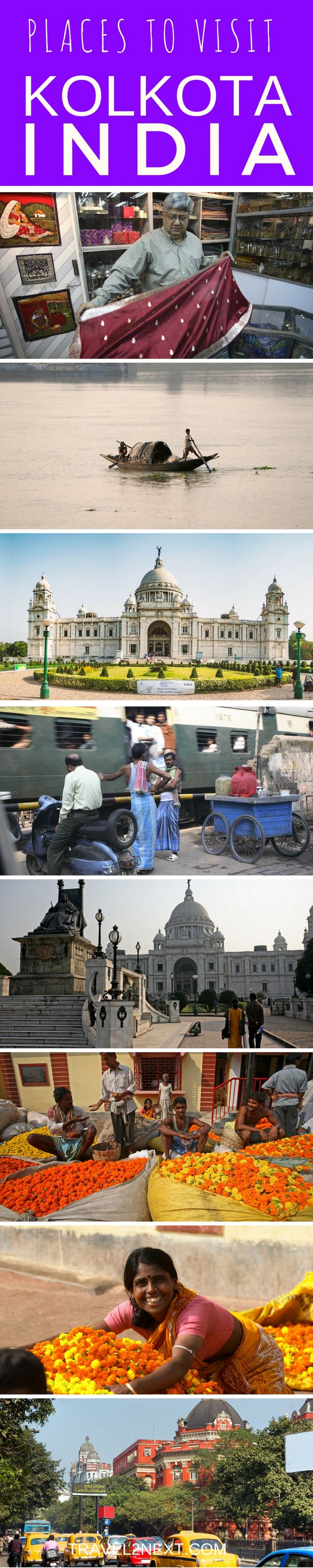Places to visit in Kolkata in India. Here are some great reasons to go visit.