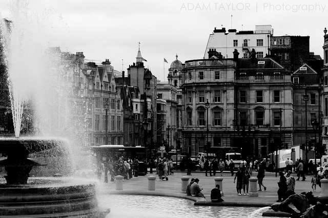 Trafalgar Square, London, UK