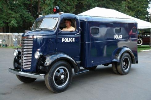 1940 Chevrolet Police Paddy Wagon.