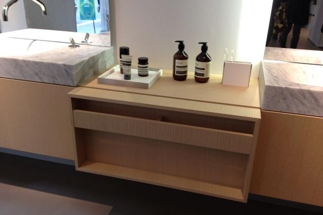 Agape showroom, Milan