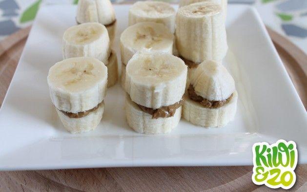 Super simpele banaan hapjes