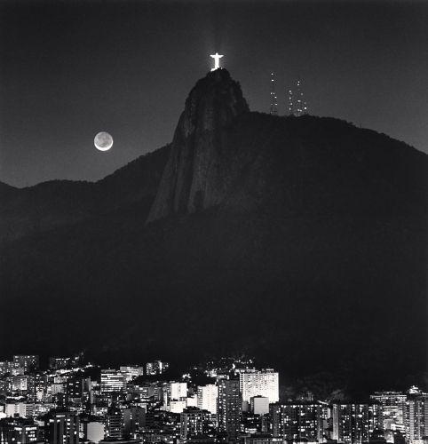 Michael Kenna - Cristo Redentor, Rio de Janeiro, Brazil. 2008