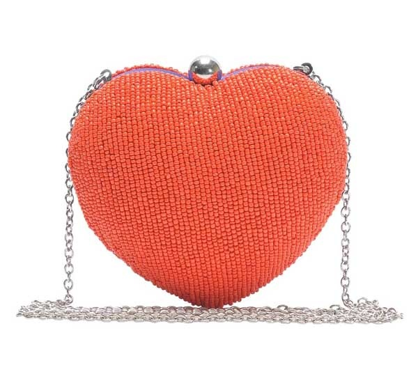 Kunst Hearty Beaded clutches