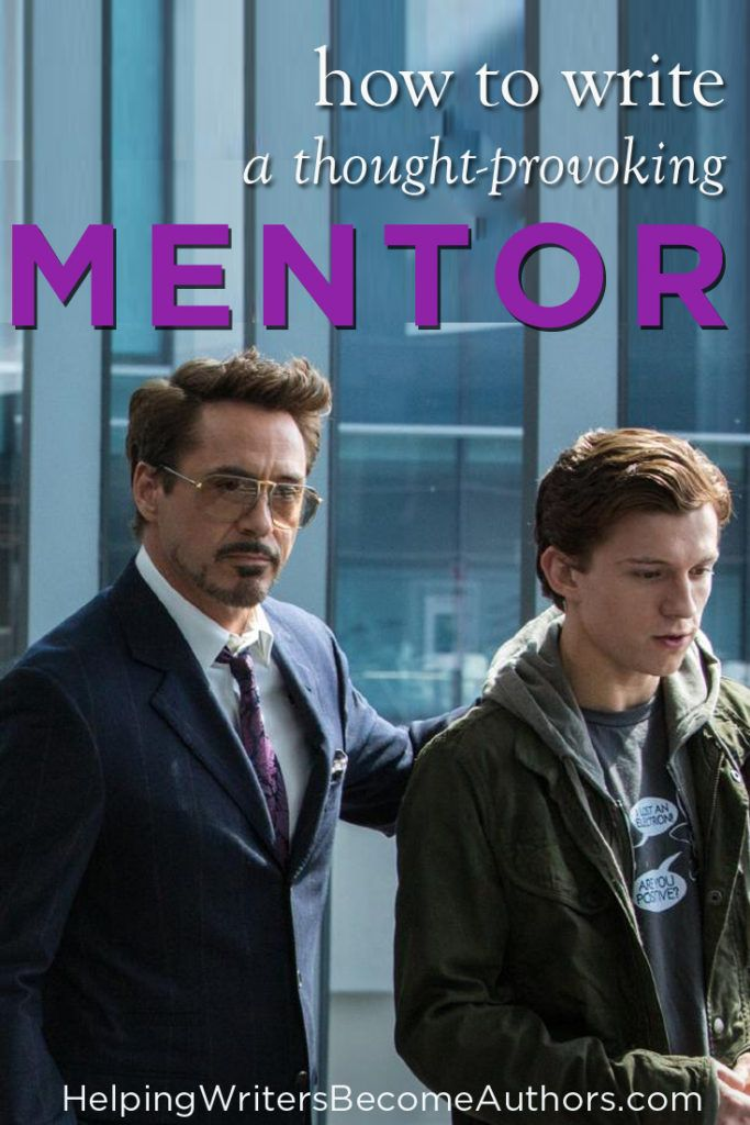 4 Ways to Write a Thought-Provoking Mentor Character | Your Mentor Character Should Be a Touchstone for the Thematic Truth