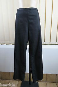 Plus Size 2XL 18 Ladies Casual 7 8 Pants Trousers Stretch Weekend Resort Retro | eBay