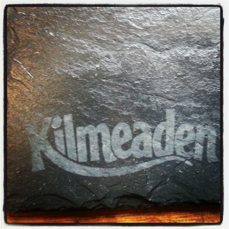 Bespoke Cheese Board for KIlmeaden Cheese  Slate Plate