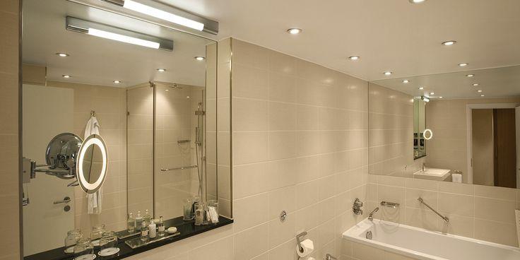 Jak oświetlić łazienkę?  #abanet_Kraków #lampy #łazienka #oświetlenie