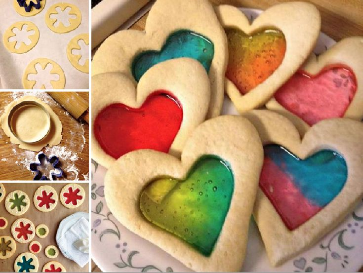Stained Glass Cookies - I've made these before. They are so pretty.