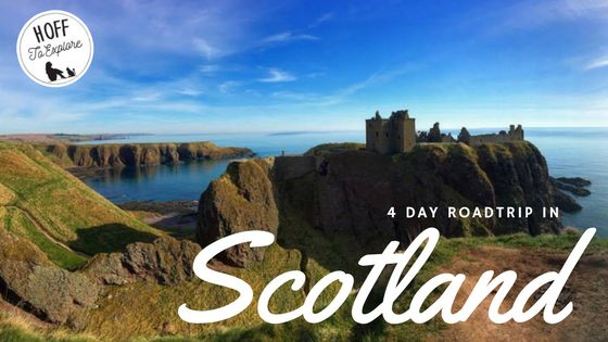 4 day road trip in Scotland including Glasgow, Inverness and Stonehaven.
