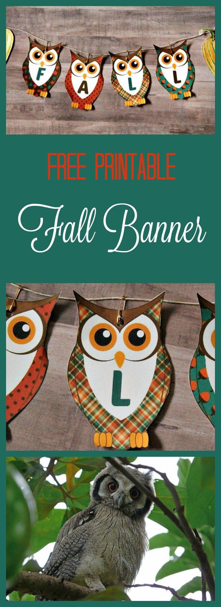 Free Printable Banners, Fall Banner,,printable banner