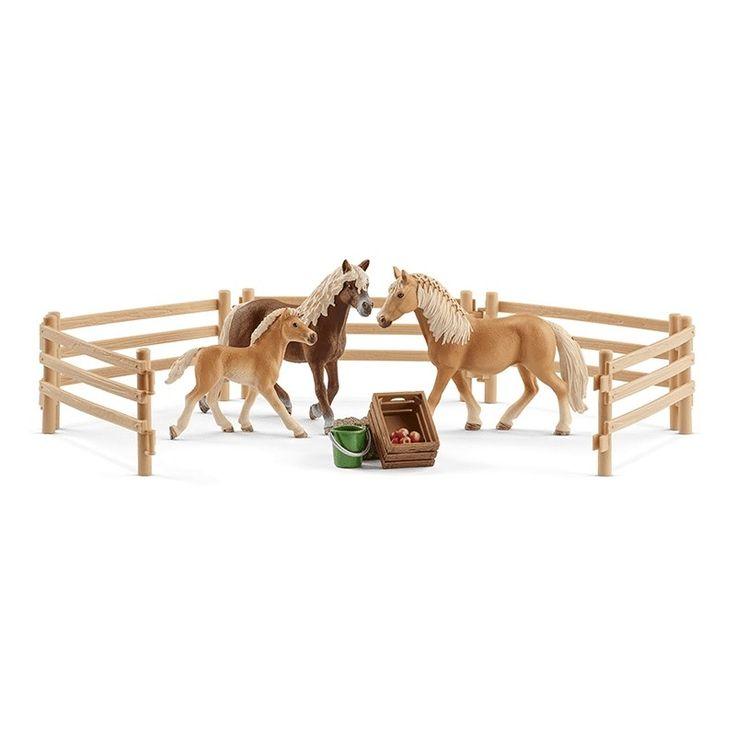 Schleich Haflinger Family The Cheshire Horse Schleich Toy Horse Figurines