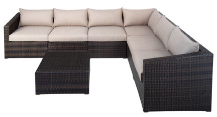 Kendari is a Modular Outdoor Lounge increasding in demand for its practicality and comfort, as well as its unique sense of style.