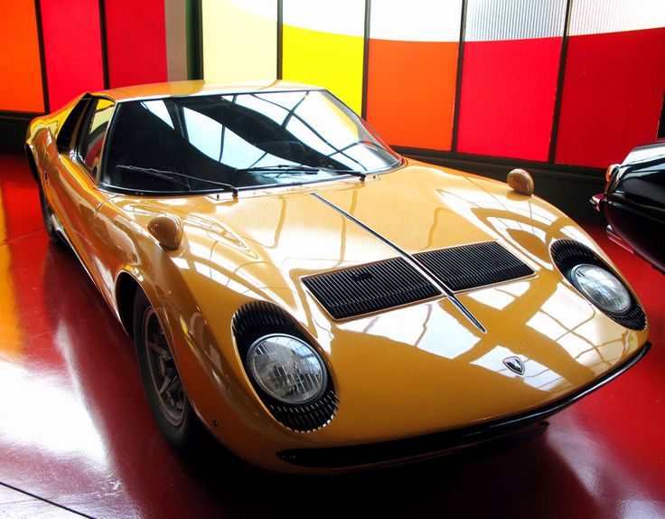 When released in 1966 the Lamborghini cost £14,000