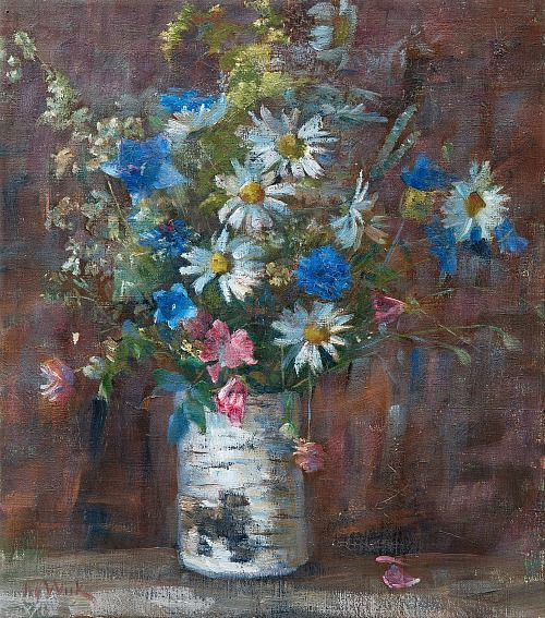 Maria Wiik Summer Flowers 20th century