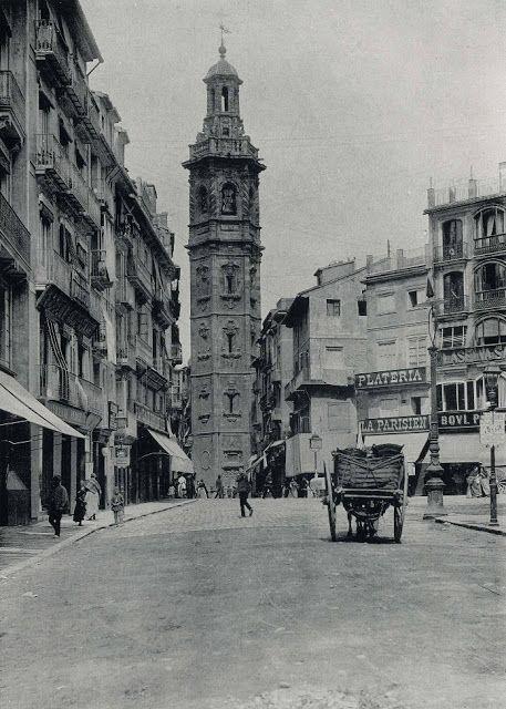 TORRES DE VALENCIA: 1870 / torre de santa Catalina / vintage photography / cities
