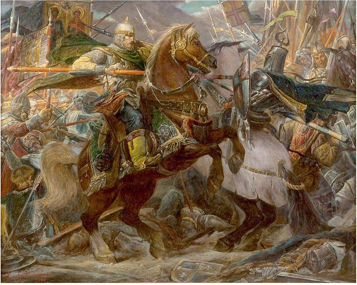 Костылев Дмитрий Павлович - «Ледовое побоище» 1242 год