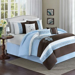 Better Homes And Gardens Estella 7 Piece Bedding Comforter Set