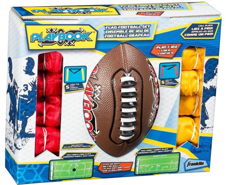 Amazon: Franklin Sports Flag Football Set $14.59 {reg. $25} + More Sports Related Deals!