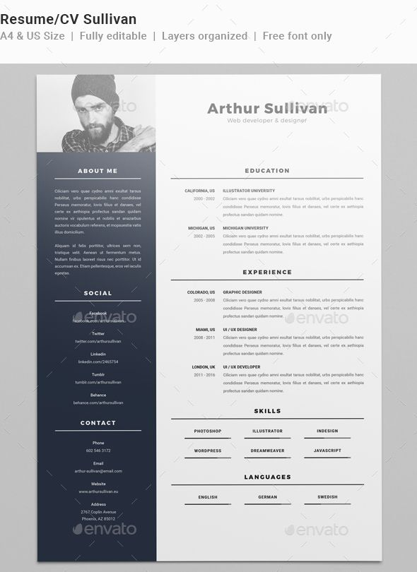 175 best CV- Βιογραφικό- резюме images on Pinterest - professional cv