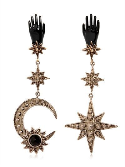 EARRINGS - ROBERTO CAVALLI - LUISAVIAROMA.COM - WOMEN'S FASHION JEWELRY - FALL WINTER 2016 - LUISAVIAROMA.COM - stone jewelry, jewelry definition, online jewelry stores *ad