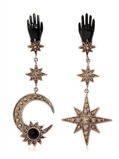 EARRINGS - ROBERTO CAVALLI - LUISAVIAROMA.COM - WOMEN'S FASHION JEWELRY - FALL WINTER 2016 - LUISAVIAROMA.COM - stone jewelry, jewelry definition, online jewelry stores *ad