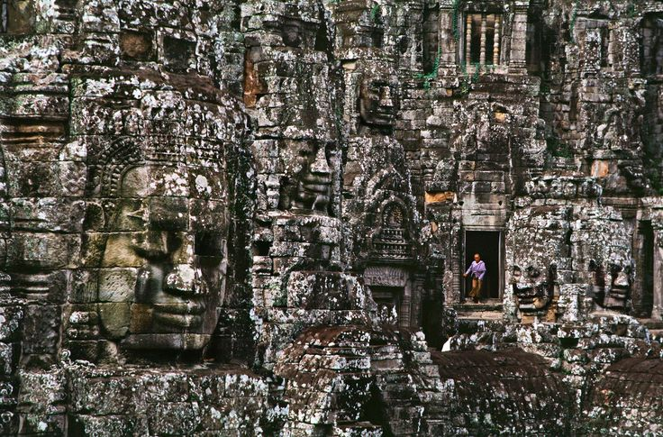 Sometimes I see this image when I close my eyes.  It was stuck in my psyche from the moment I first saw it.  -  Steve McCurry - Banyon Temple, Angkor Wat, Cambodia