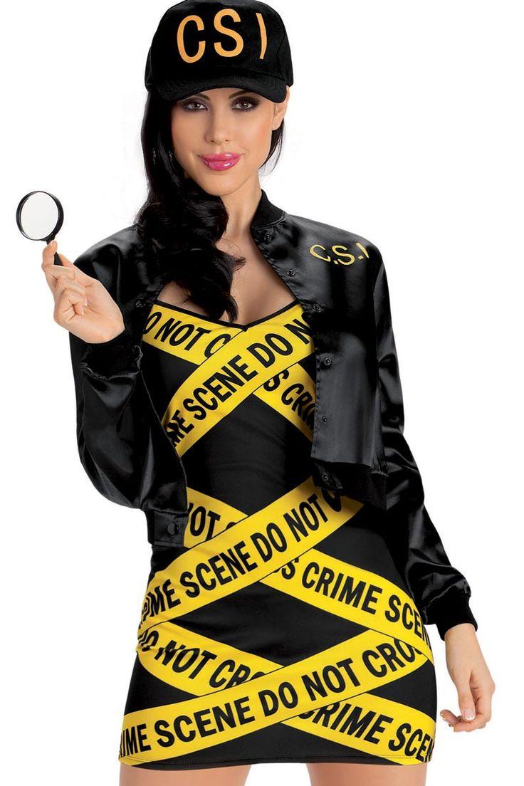 plus size halloween costume csi