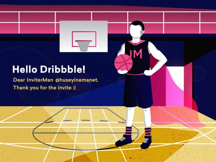 Hello Dribbble!  by Aycan Doganlar