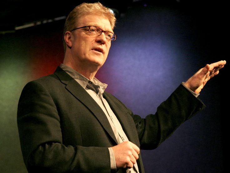 Ken Robinson twierdzi, że szkoły zabijają kreatywność   Video on TED.com