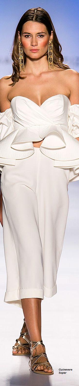 Johanna Ortiz Resort WHITE • HAUTE • CHIC  • ❤️ Curated by Babz™✿ιиѕριяαтισи❀   #abbigliamento