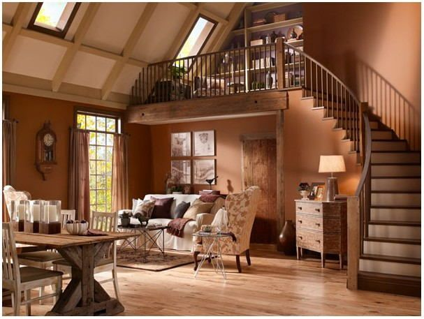 Pictures Of Rustic Painted Living Rooms Paint Colors For Living Room Rustic Living Room Living Room Colors