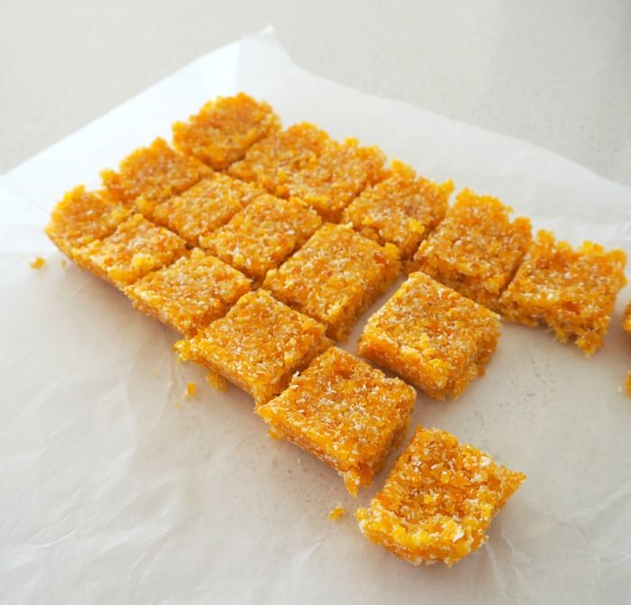 2 Ingredient Thermomix Apricot and Coconut Slice