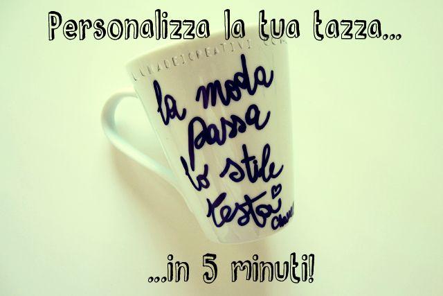 LUNAdei Creativi | Pennarelli per Ceramica per Personalizzare la Tua Tazza | http://lunadeicreativi.com