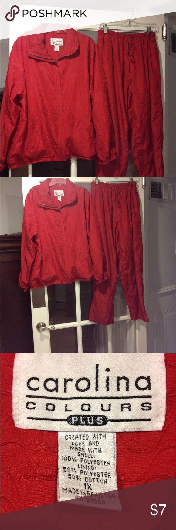 Carolina Colours 1X Jogging Suit Size 1X Carolina Colours Jogging Suit good condition Carolina Colours Pants Track Pants & Joggers