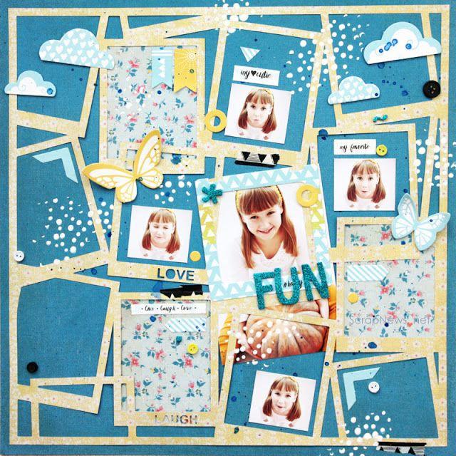 Ярмарка вдохновения: Fun layout • Страничка про веселье Блог Татьяны Батрак (скрапбукинг для начинающих, мастер-классы, скачать, наборы, скрапбукинг, своими руками, открытки, декупаж, Silhouette плоттер, теория скрапбукинга)