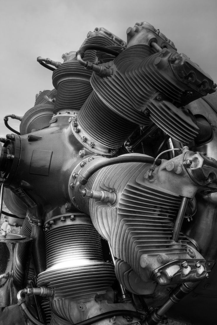 the beauty of machines - Radial Engine