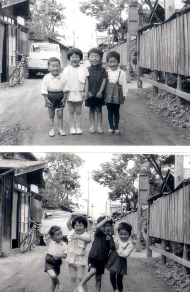 昭和の子 | Showa-era Kids! Adorable!ღ