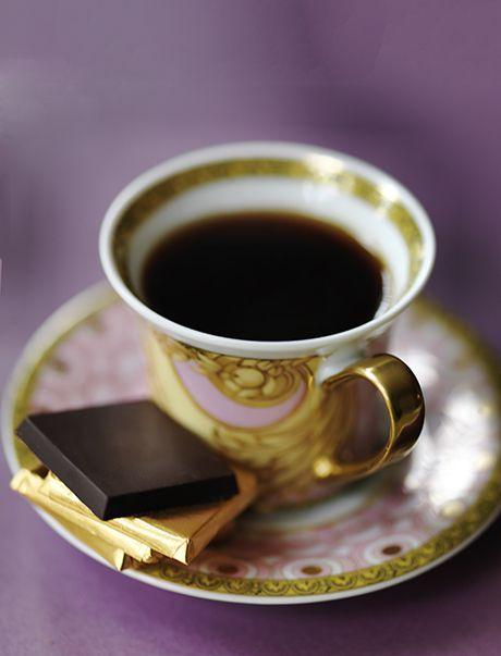 Sweet Paris -Verscace coffee cup and chocs lr