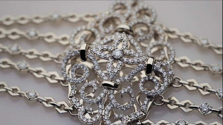 Бриллиантовый браслет. #diamonds #jewellry #gold #designer #victoriacheter