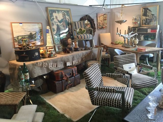the grand opening vip party at the east hampton antique show 2017 was the grand finale of our hamptons antiques design inspiration group tour - Tour Of The Hamptons