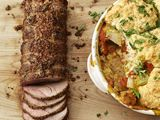 Roast Pork Loin Recipe from Food Network!  4 Stars!    All ingredients can be found @ Fishers!