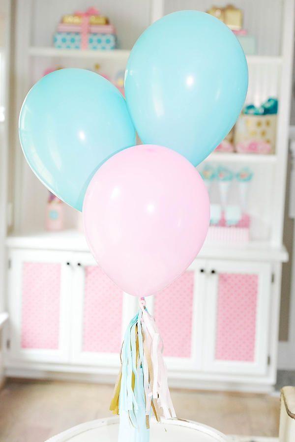 Nazar Organizasyon   Pembe & Mavi Doğum Günü Organizasyonu