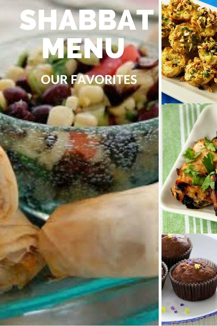 Shabbat Menu- Joy of Kosher's favorite recipes for the perfect Shabbat menu
