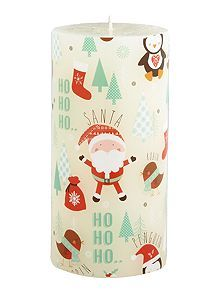 Frosty character pillar candle @houseoffraser #Alliwantforchristmasfromhof