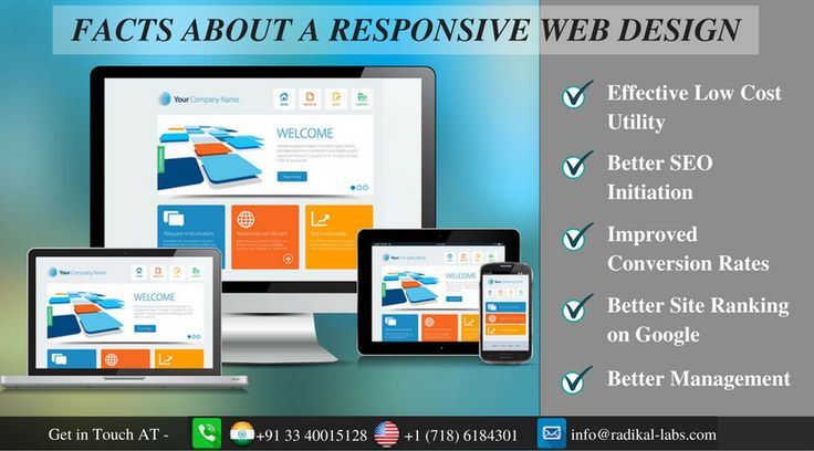 If you want to know more about the features of responsive web design and why e-businesses need it, Contact Radikal Labs.