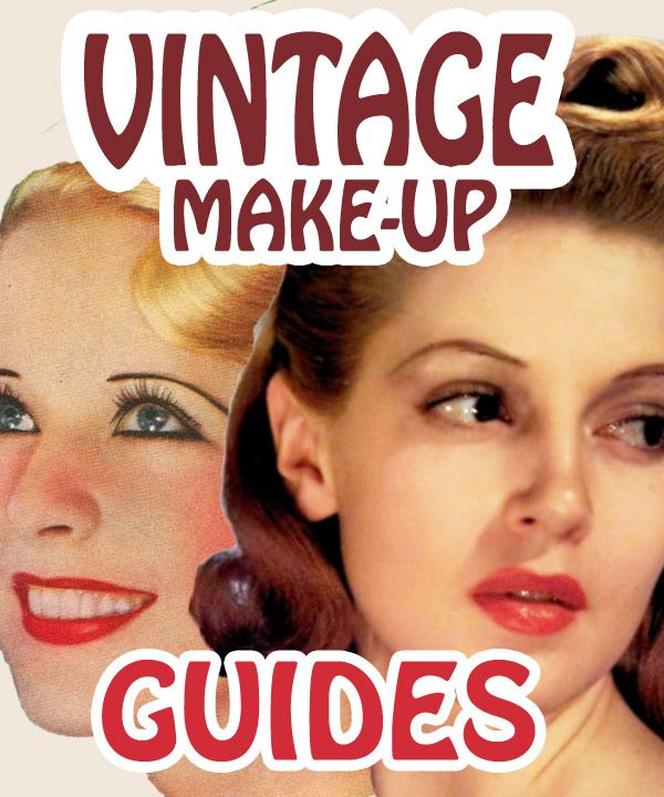 An Original Flappers Guide to 1920's Make-up | Glamourdaze Eyebrow Makeup Tips