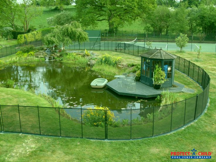 35 best pool fence images on pinterest pool fence for Fish pond protection