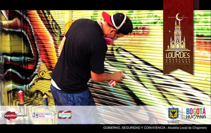 #lourdesgaleríaurbana @James Kudo  http://topofilia.com.co/project/lourdes-corredor-cultural-jorge-olave-sierra/